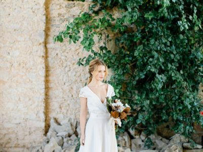 Lisbon Bridal Inspiration at Forte da Cruz