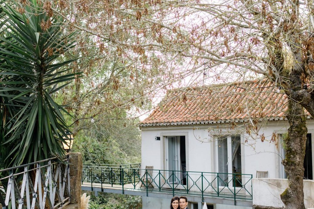 Romantic and bohemian outdoor wedding in Sintra