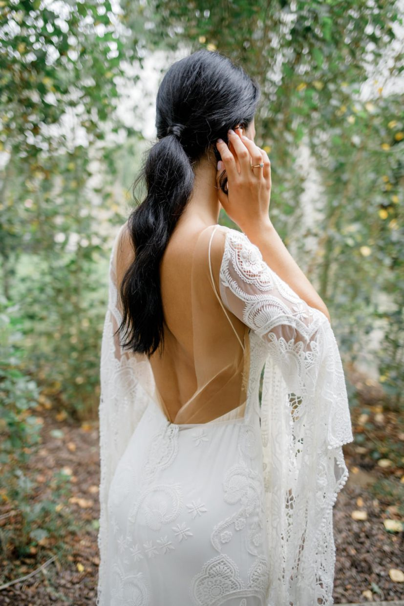 Sia gown by Rue de Seine at Portugal boho chic wedding