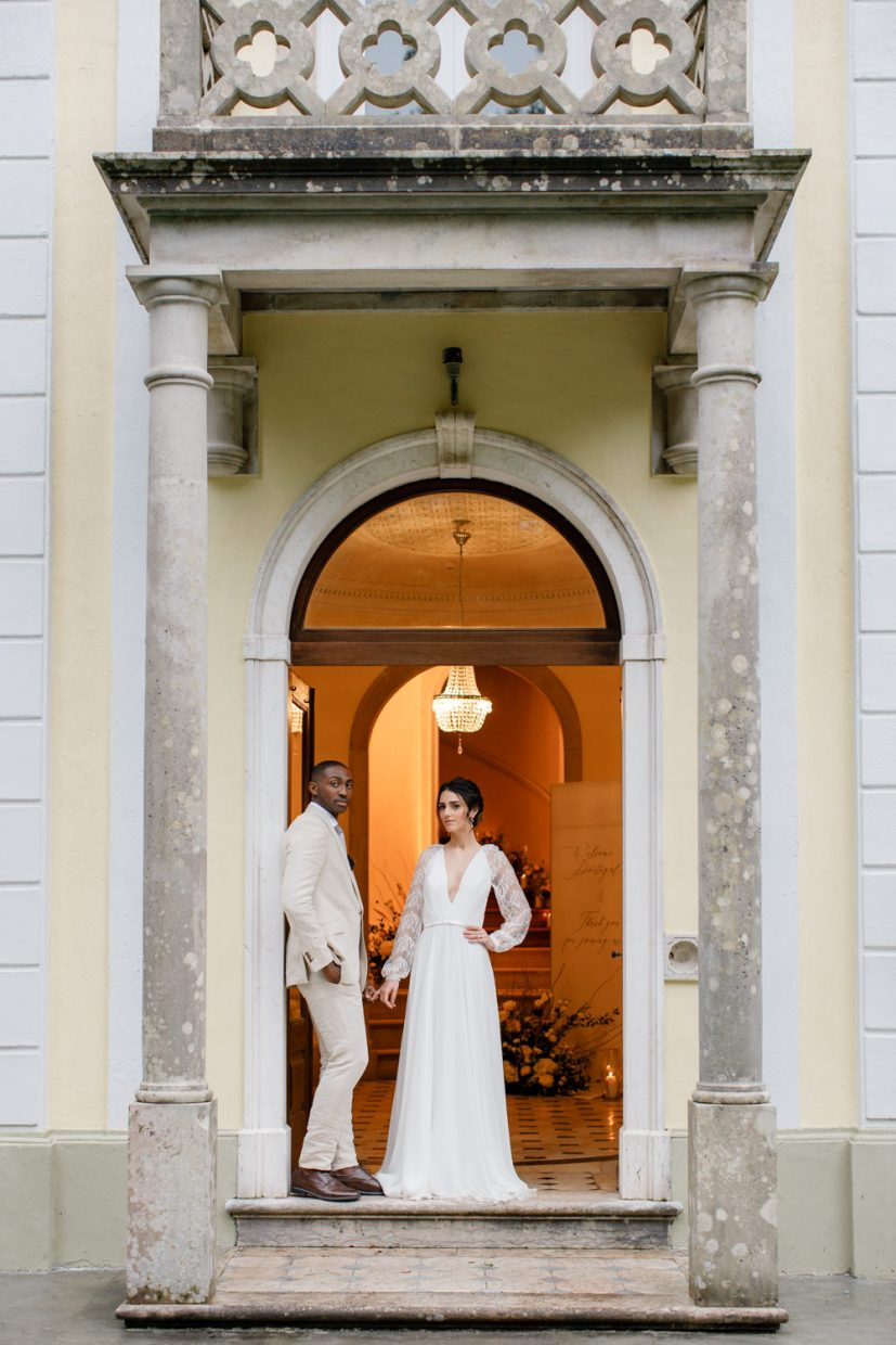 Intimate Sintra wedding at Camélia Gardens